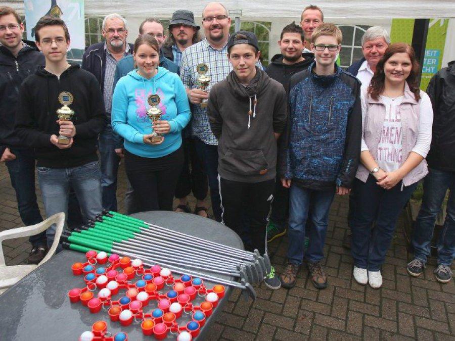 Hier sehen Sie die Sieger der Minigolf-Stadtmeisterschaft 2015