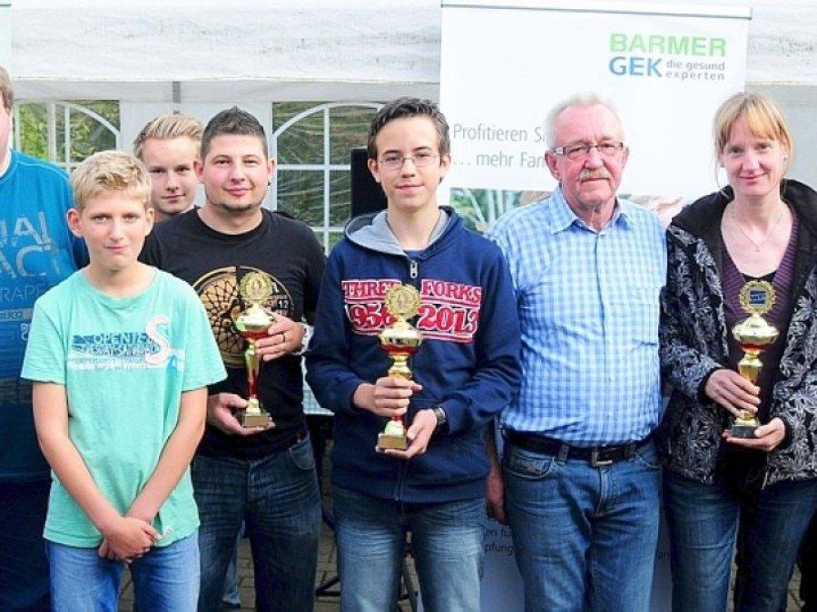 Hier sehen Sie die Sieger der Minigolf-Stadtmeisterschaft 2014