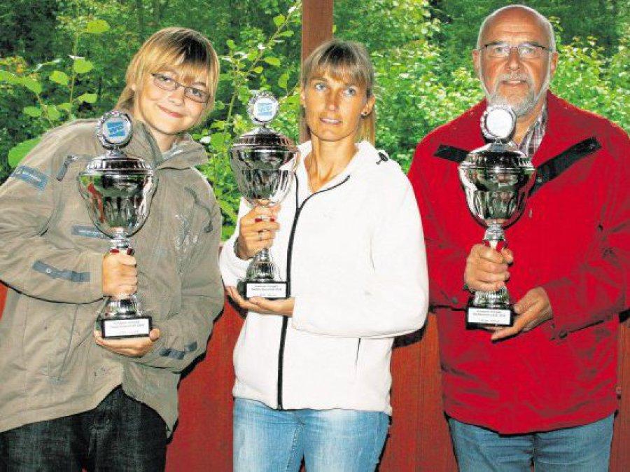 Hier sehen Sie die Sieger der Minigolf-Stadtmeisterschaft 2010
